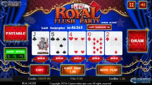Royal Flush Party HTML5 Mobile Preview Pic  2
