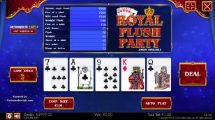 Royal Flush Party HTML5 Mobile Preview Pic  3