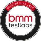 Certified by BMM Test Labs since 2016